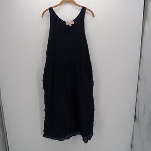 Philosophy Blue Casual Sleeveless Dress Medium